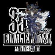 Final Fantasy 35th Anniversary Logo