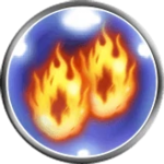 FFRK Doublecast Fire Icon.png