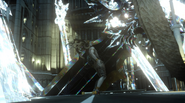 Ifrit and Bahamuts swords from FFXV