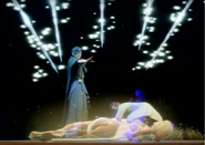Somnus kills Aera in FFXV Episode Ardyn