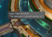 Battle of the Gardens save point up and running from FFVIII R