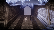 Coliseum steps in Close Encounter of the Terra Kind in FFXV