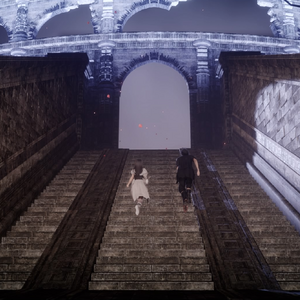Coliseum steps in Close Encounter of the Terra Kind in FFXV.png