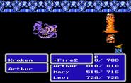FFIII NES Fire 2 EA