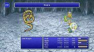 Rydia using Asura Raise from FFIV Pixel Remaster