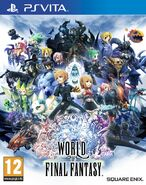 World of Final Fantasy PSVita Cover