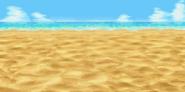 FFIV Beach Background GBA