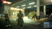 Final Fantasy XV Gas Station
