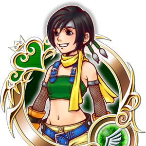KHUX Illustrated Yuffie 5★ Medal.png