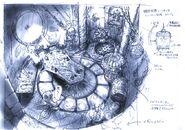 Kuja's Palace FFIX Art 2