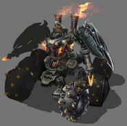 MOTOR artwork for FFVII Remake