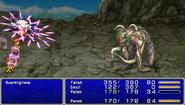 FF4PSP Enemy Ability Cursed Elegy