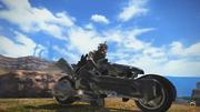 FFXIV Fenrir Motorbike