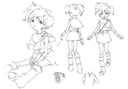 Ai sketches for Final Fantasy Unlimited