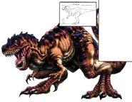 T-Rexaur FFVIII Color Art