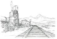 Train Station FF8 Art 2