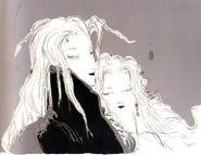 Aerith & Sephiroth