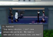 Dr Kadowaki during Garden revolt from FFVIII Remastered