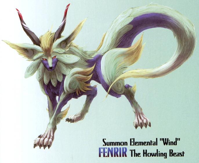 Fenrir (summon)