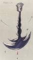 Fossil roo pendulum