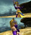 Rikku Gun Mage Victory Pose