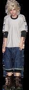 Teen Cloud from FFVII Remake render