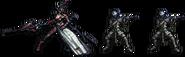 FFRK Aranea & Imperial Trooper FFXV