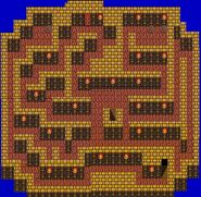 FF II NES - Mysidian Tower Second Floor