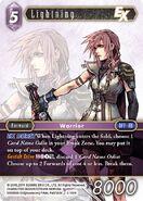 Lightning 3-118H from FFTCG Opus
