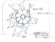 Midgar Plate FFVII Sketch