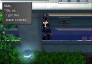 Nida during Balamb Garden Revolt from FFVIII Remastered