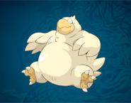 FFD2 Morrow Fat Chocobo Art