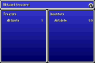 FFV Loot Screen GBA