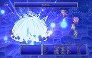 Firion using Ultima X from FFII Pixel Remaster