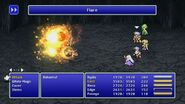 Fusoya using Flare from FFIV Pixel Remaster