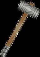 Hammer from FFIX weapon render