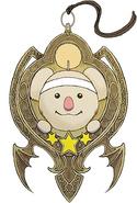 Moogle's Amulet artwork for Final Fantasy VII Remake