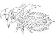 Somosan full concept sketch for Final Fantasy Unlimited