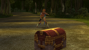 FFX Treasure Chest in Battle