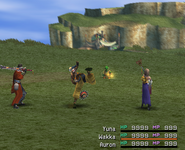 FFX Wakka Self Attack