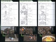 Limit Break Storyboard FFVII Sketches 2