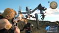 MA-X Patria vs machine gun fire from FFXV