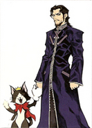 Reeve and his Kitty