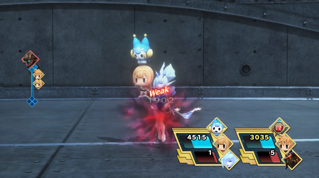 World of Final Fantasy enemy abilities/Gallery