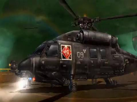 Shinra Military Transport Helicopter