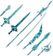 Dissidia 012 Gilgamesh Weapons Manikin