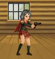 FFT-0 Virtual World Cater's Magic Gun