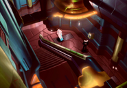 Lunar Base Hallway from FFVIII Remastered