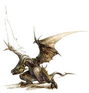 VS Dragon Artwork