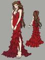Aerith dress 3 from FFVII Remake concept art